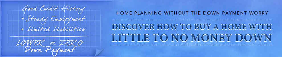 How To Buy A Home With Little Or No Money Down Image